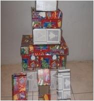 REF 2 DIE CUT FULL COLOUR BOXES
