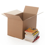 MEDIUM CARDBOARD BOX - SINGLE WALLED