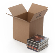 CARDBOARD DVD BOX - SINGLE WALLED