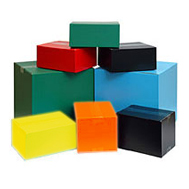 Coloured Boxes