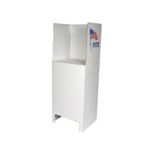 Floor Standing Voting Booth